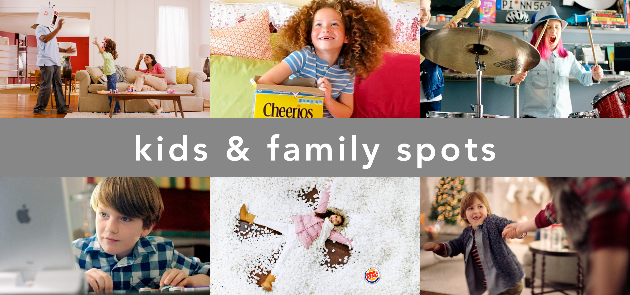 live action kids and family spots directed by KN+SAW | Katrine Naleid + Stephen Austin Welch