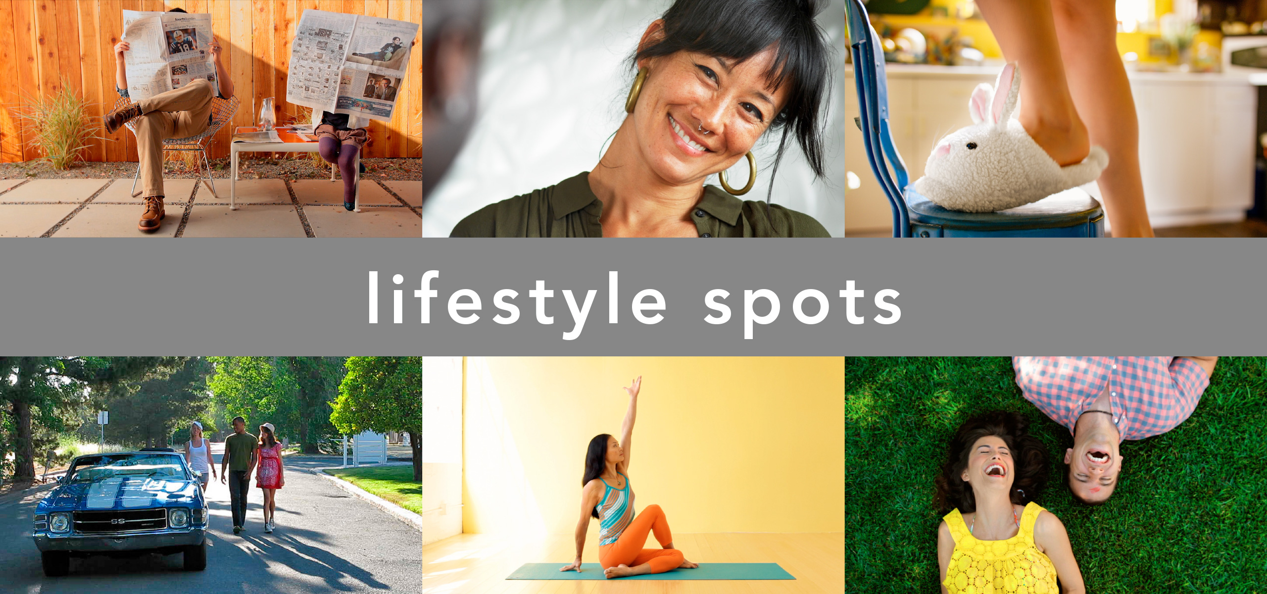 live action lifestyle spots directed by KN+SAW | Katrine Naleid + Stephen Austin Welch